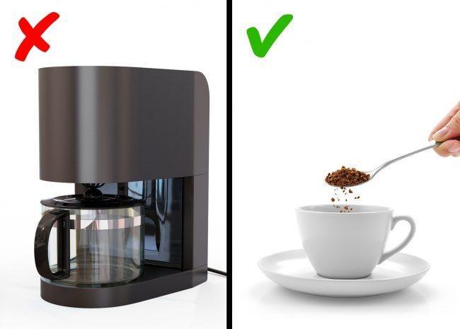Πίνετε καφέ από την καφετιέρα του γραφείου