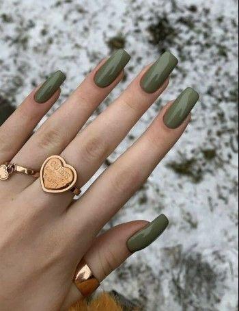 νύχια 2021: λαδί νύχια