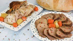Η πιο νόστιμη Πρωτοχρονιάτικη συνταγή για κρέας στη γάστρα
