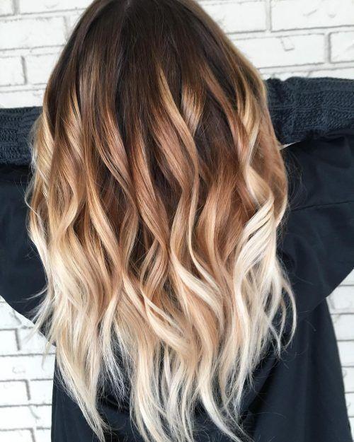 όμπρε ξανθό στα μαλλιά