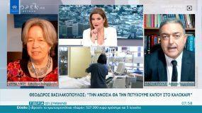 Κορονοϊός – Βασιλακόπουλος: Σχολεία στις 20 Γενάρη – Ανοσία θα πέτυχουμε το καλοκαίρι