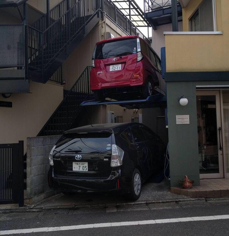 Οι Ιάπωνες έχουν πάει το παρκάρισμα ένα βήμα παραπέρα...