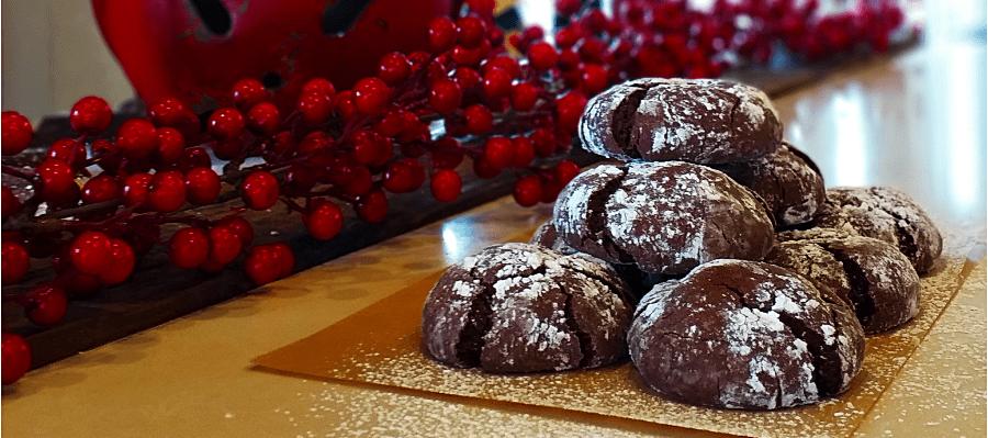 Κρακελέ: Μαλακά μπισκότα σοκολάτας από την Σόφη Τσιώπου