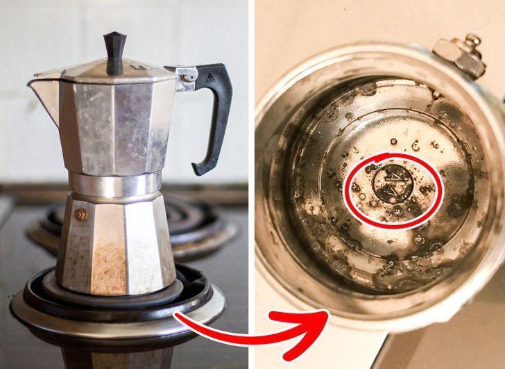 Απαγορεύεται να πλένετε με υγρό πιάτων το μπρίκι του espresso