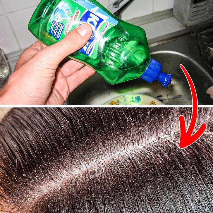 Απαγορεύεται να πλένουμε τα μαλλιά μας με υγρό πιάτων