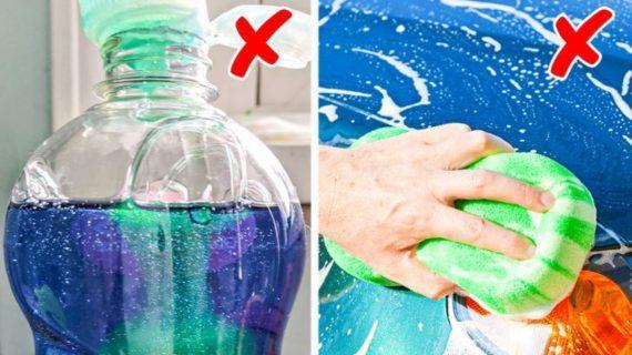 Τα 11+1 πράγματα που απαγορεύεται να πλένετε με υγρό πιάτων