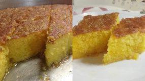 Αφράτη & μαμαδίστικη πορτοκαλόπιτα με σιμιγδάλι