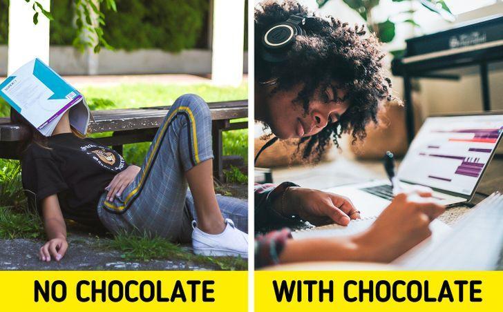 Όταν τρώμε σοκολάτα για πρωινό βελτιώνουμε την νοημοσύνη μας_