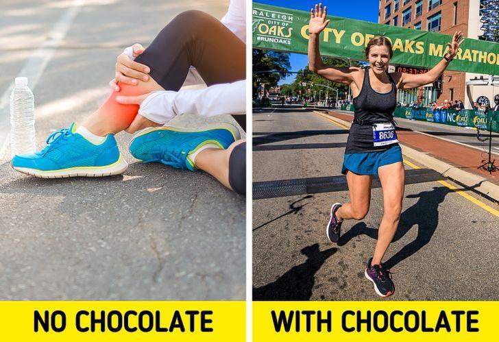 Η σοκολάτα βοηθά στην γυμναστική_