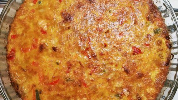 Πίτα λαχανικών χωρίς φύλλο –  Η καλύτερη συνταγή