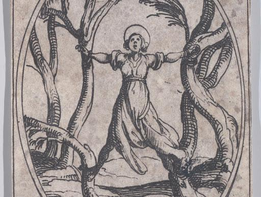 Η αγία για τις πανδημίες σαν του κορονοϊού Αγία Κορόνα_