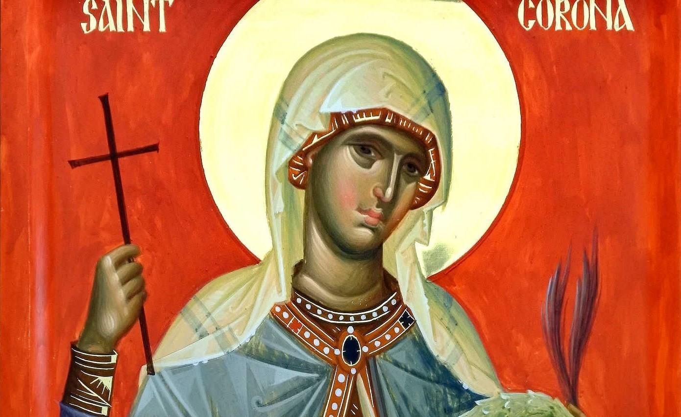 Αγία Κορώνα: Η αγία για τις πανδημίες σαν του κορονοϊού