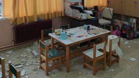 Σχολεία: Έπεσαν σοβάδες σε νηπιαγωγείο