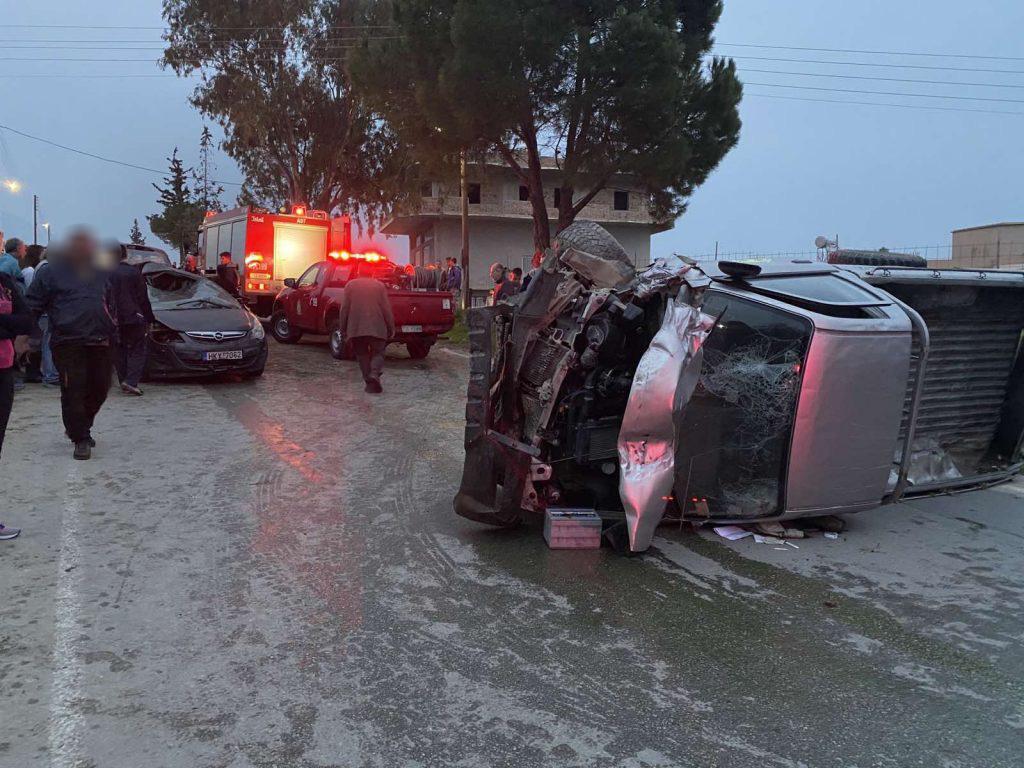 Κρήτη: Σοκαριστικό βίντεο της στιγμής του τροχαίου της άτυχης Όλγας και του 3χρονου παιδιού της