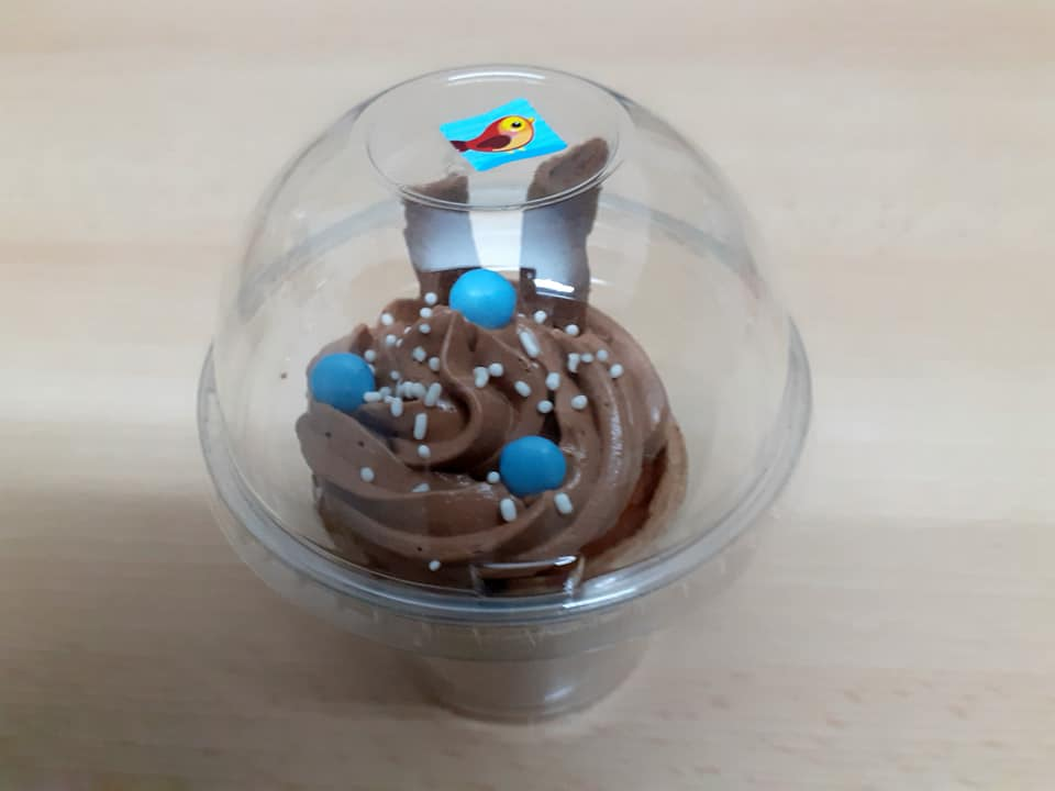 Cupcakes σε χωνάκι_