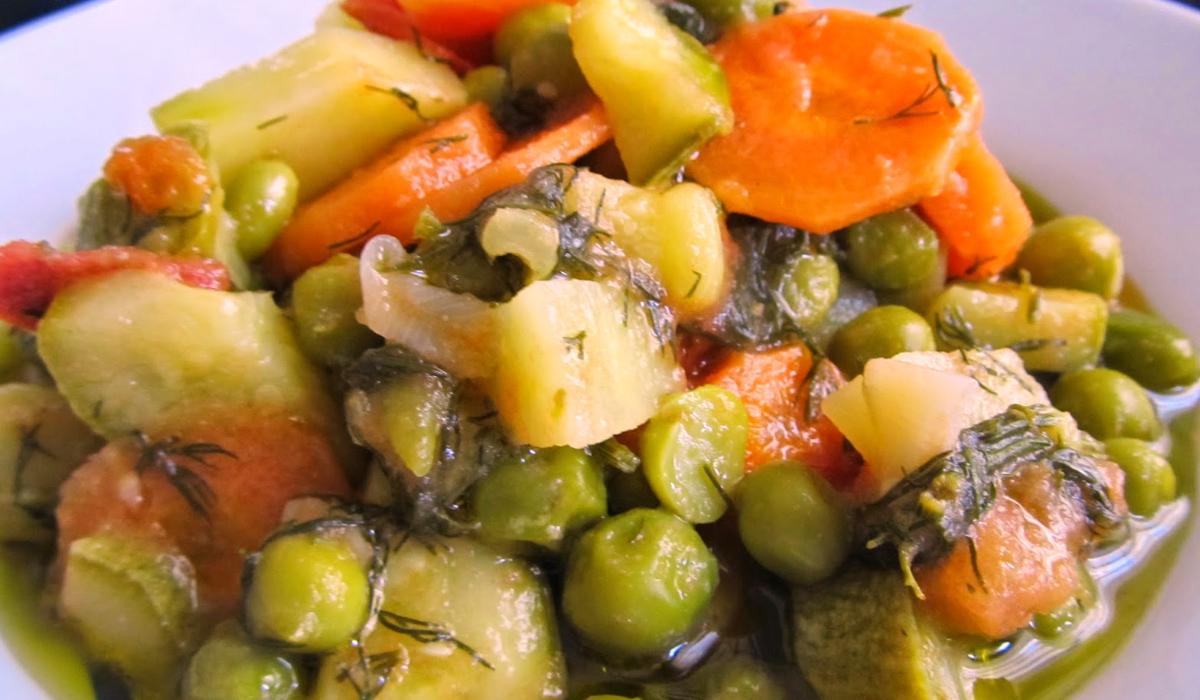 Αρακάς με λαχανικά_Συνταγή_