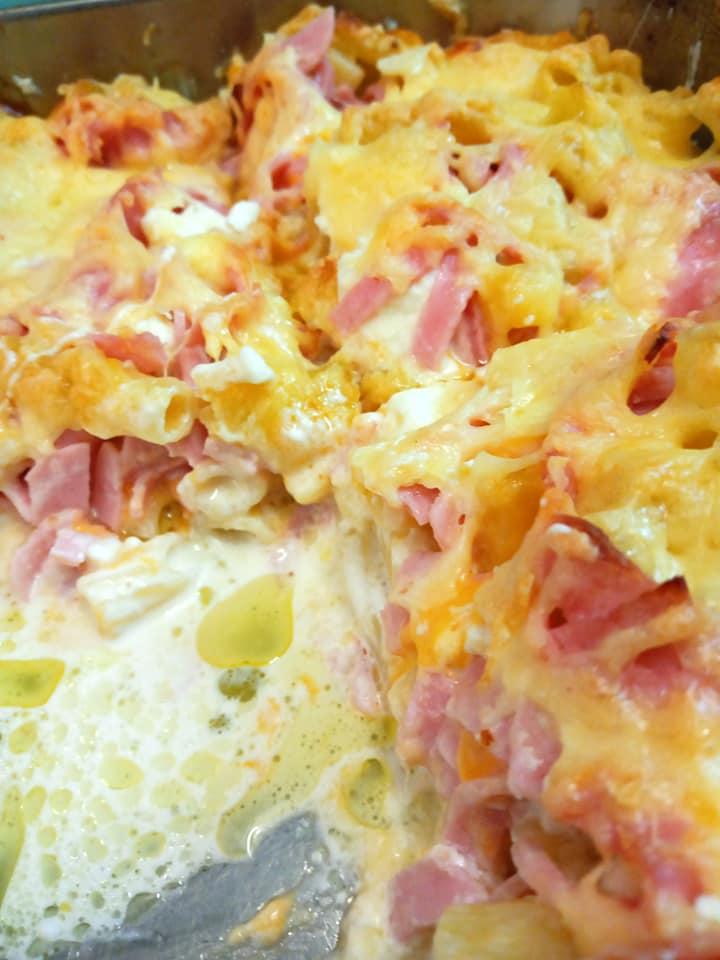 Συνταγή για _Σουφλέ ζυμαρικών_ με ριγκατόνι_Συνταγή_