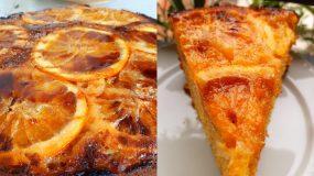 Κέικ με_ καραμελωμένα πορτοκάλια_Συνταγή