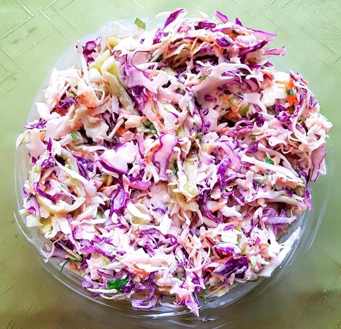 Σαλάτα_ με λάχανο _και μαγιονέζα_Συνταγή_