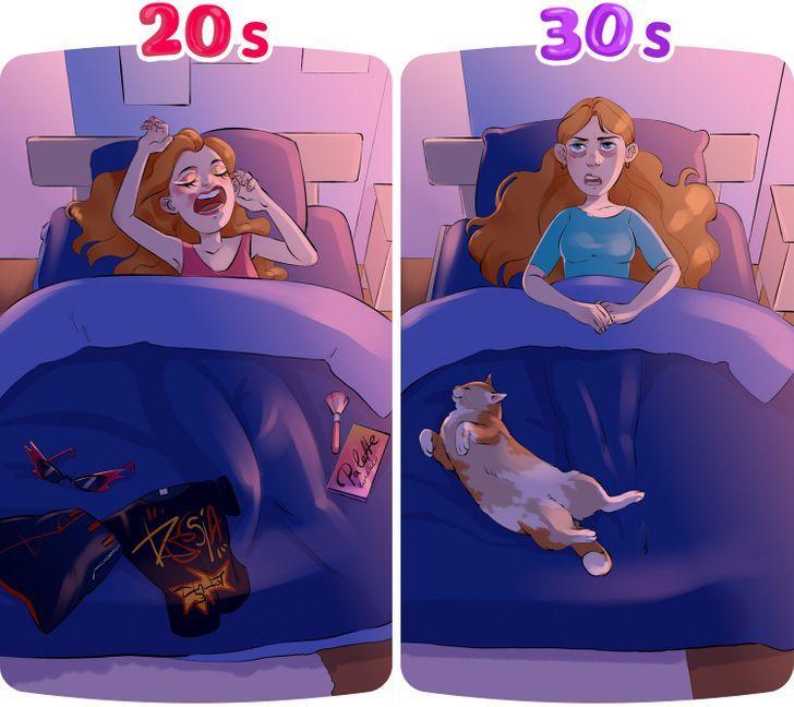 Μετάβαση_ από τα 20 _στα 30_Δύσκολος υπνος_