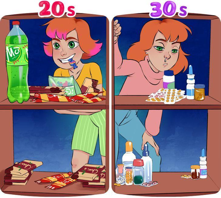 Μετάβαση από τα 20 στα 30_Αρρωσταίνουμε συχνότερα_