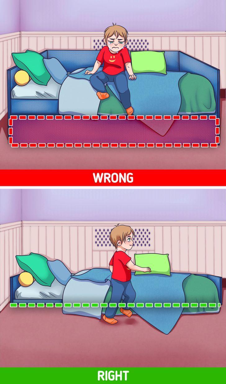 Άβολο σπίτι _ παιδικά κρεβάτια_