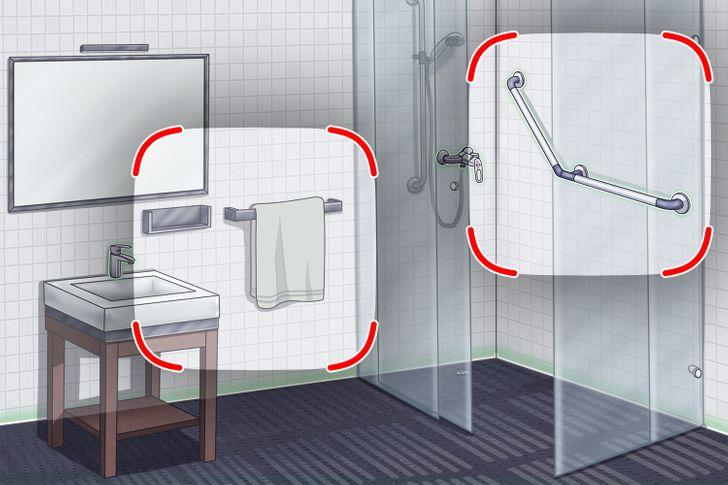 λάθη στην διακόσμηση του μπάνιου_