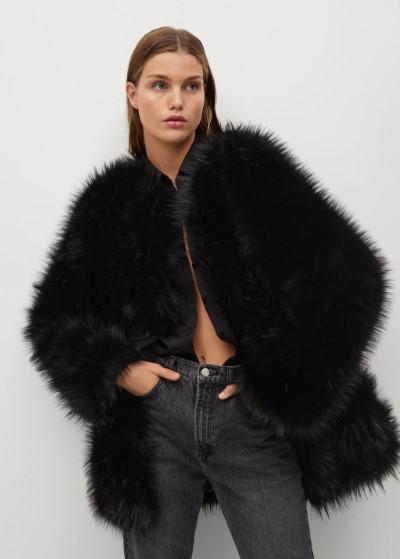 μαύρο_ faux fur_