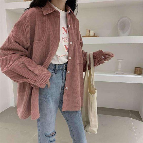 κοτλέ ρούχα_ ροζ_κοτλέ_jacket_