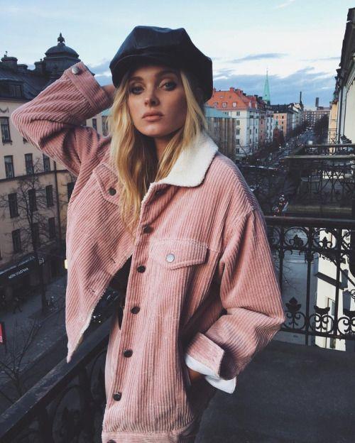 Κοτλέ ρούχα _κοτλέ_ροζ_σακάκι_