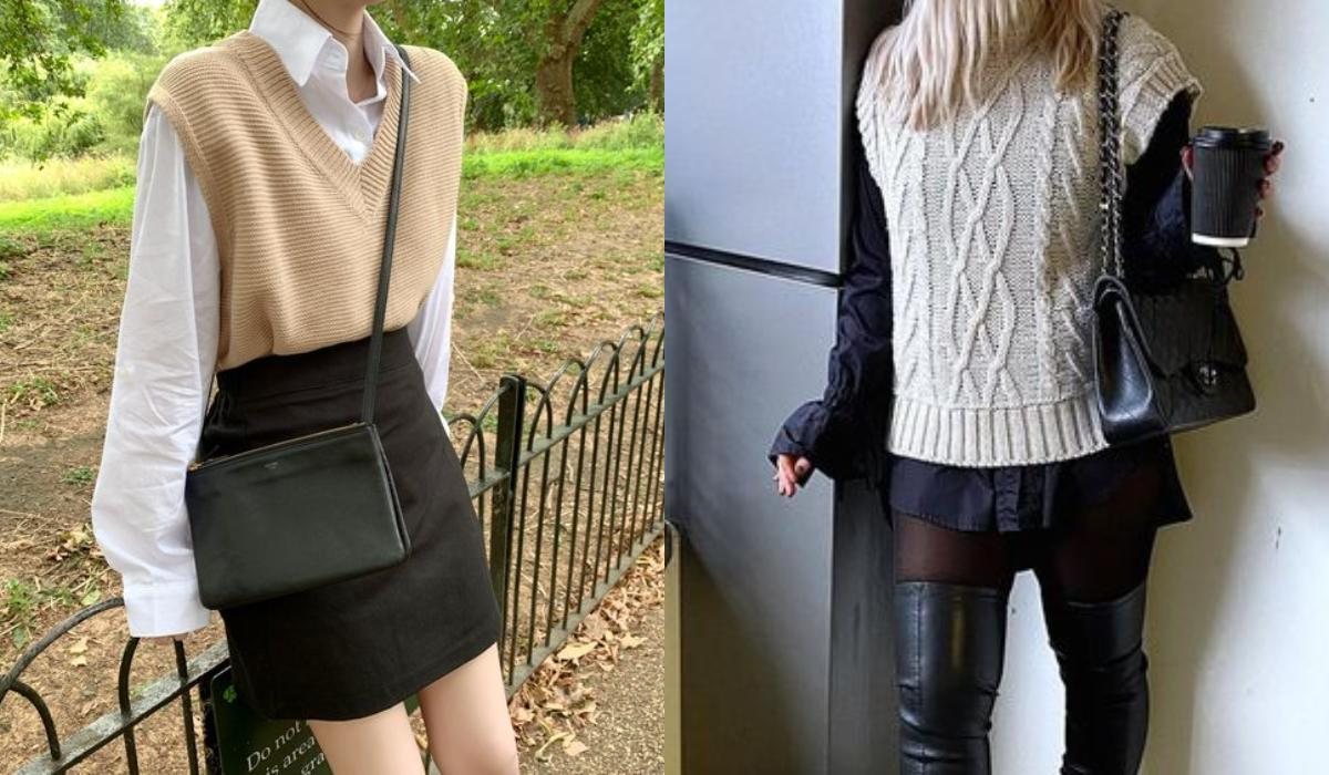 Sweater vest_ 15 ιδέες _για μάλλινα γιλέκα _