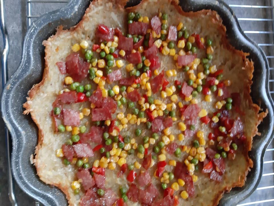 Συνταγή για_ αλμυρή _τάρτα πατάτας_
