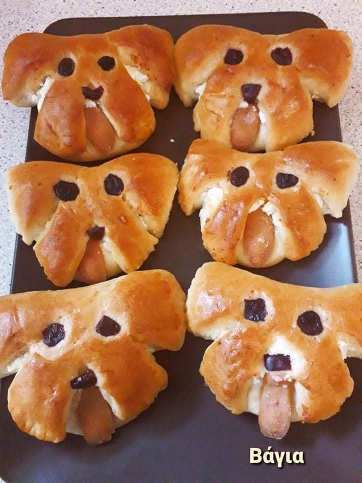 Συνταγή για_ τυροπιτάκια_σε σχήμα_σκυλάκι_