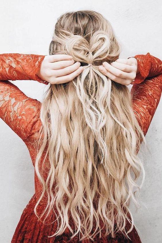 """Σπαστά_μαλλιά με σχέδιο_""""καρδούλας""""_Αγιος Βαλεντίνος_"""