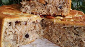 Perde pilavi: Πίτα με ρύζι , κοτόπουλο και φιδέ_