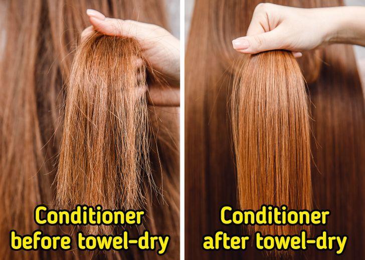 μαλακτική για τα μαλλιά_πριν_το_στέγνωμα_