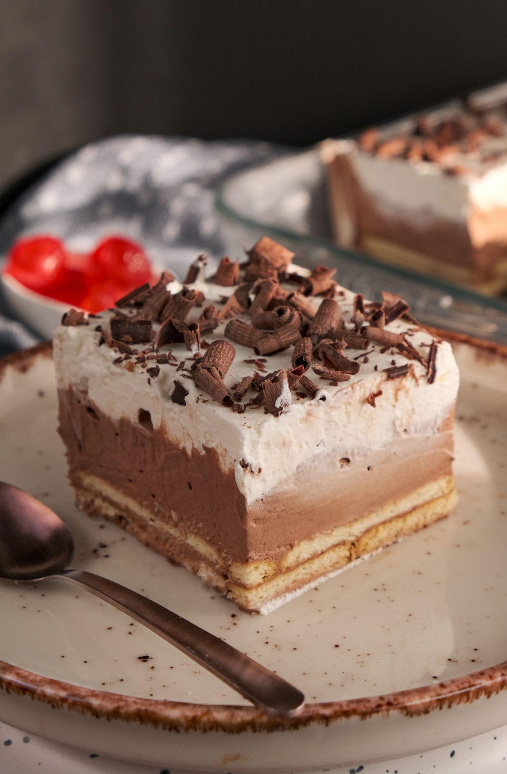 Γλυκό ψυγείου με σοκολάτα και μπισκότα_Συνταγη _