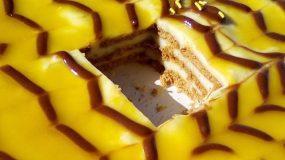 Μπισκοτόγλυκο με κρέμα πορτοκαλιού από την Τζένη Τσανακτσίδου _