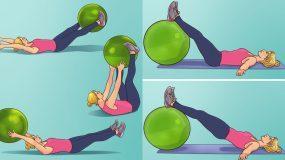 Μπάλα γυμναστικής: 12 ιδέες για ασκήσεις_