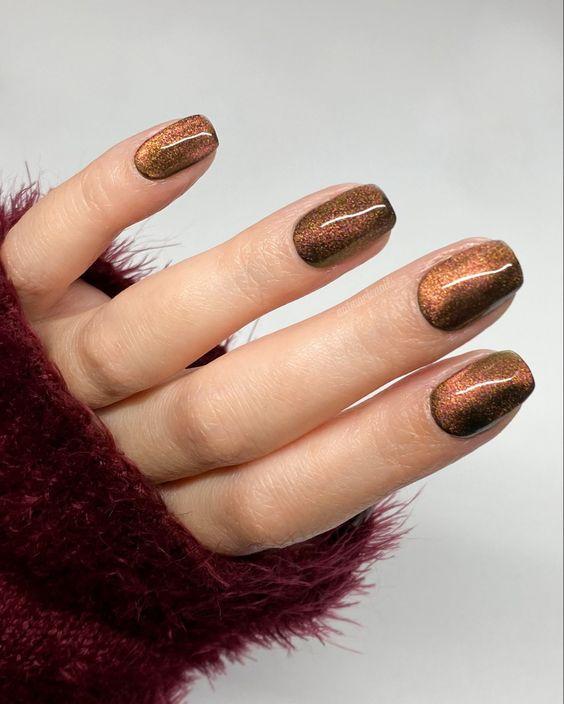 ιδέες_για_velvet_nails_σε_καφέ_χρώμα_