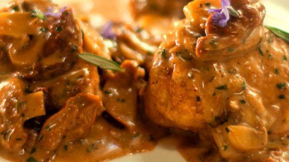 Συνταγή για σάλτσα μανιταριών bordelaise light_