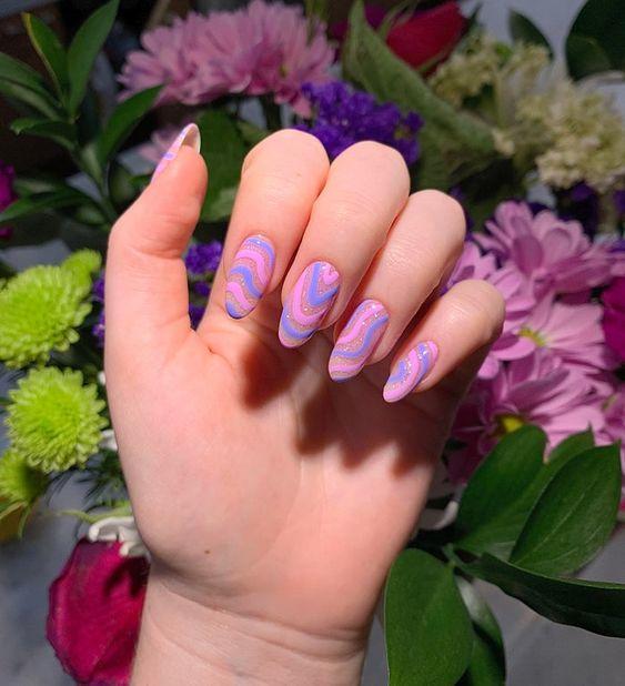 indie_nails_σε_γαλάζιο_ροζ_και_μοβ_χρώμα_