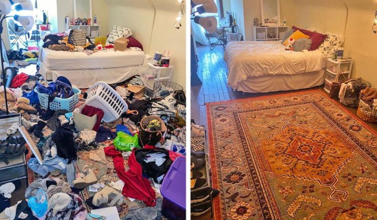 Βρώμικα σπίτια: 17 φωτογραφίες πριν και μετά_