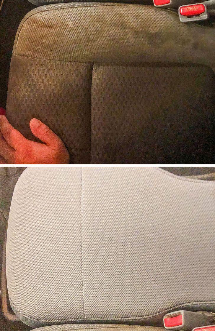 το_πριν_και_το_μετά_στα_καθίσματα βρωμικα _του_αυτοκινήτου_