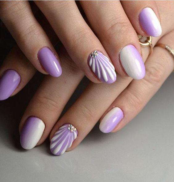 seashell_nails_με_μοβ_νύχια_