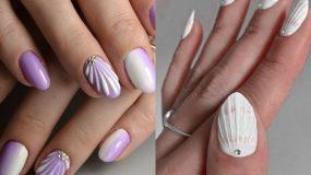 Seashell nails: Το νέο trend στα νύχια και ιδέες για την τάση του 2021_