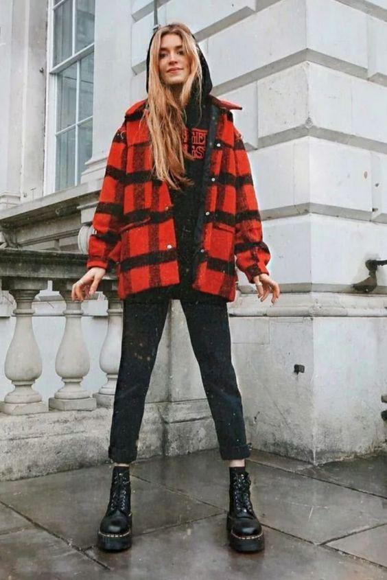 κόκκινο_και_μαύρο_overshirt_καρό_