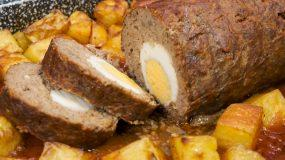Ρολό με κιμά : Η καλύτερη συνταγή από το Live Kitchen_
