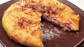 Συνταγή για ομελέτα χωρίς αυγά με πατάτα _
