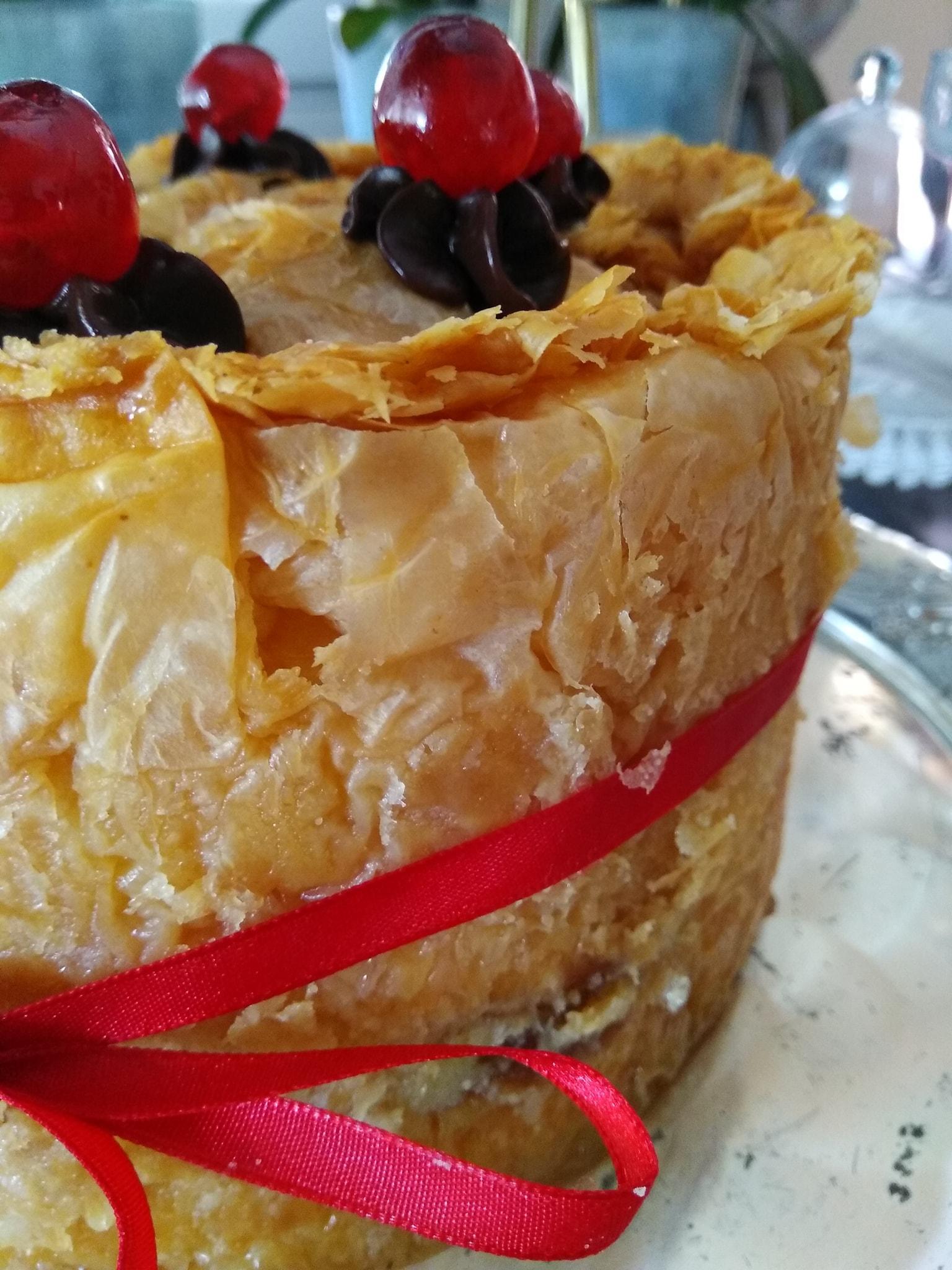 Συνταγή για _τούρτα_γαλακτομπούρεκο_